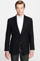 Armani Collezioni Men's G-Line Trim Fit Wool Blazer