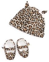 Kate Spade Infant Girl's Layette Cap & Shoe Gift Set - Beige