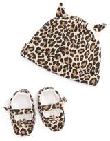Kate Spade Infant Girl's Layette Cap & Shoe Gift Set - Beige