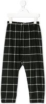 Il Gufo checked trousers - kids - Polyester/Spandex/Elastane/Viscose - 2 yrs