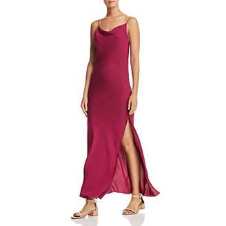 Theory Women's Sleeveless Draped Back Maxi Dress