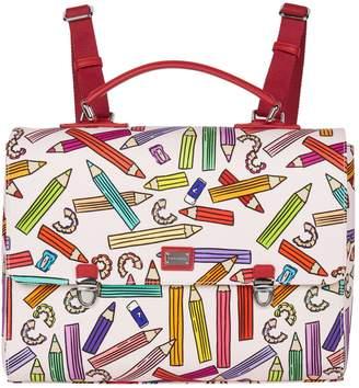 Dolce & Gabbana Pencil Print Satchel