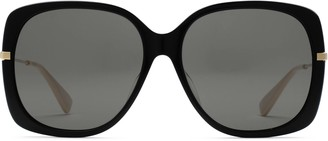 Gucci Specialized fit square sunglasses