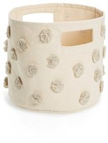 Petit Pehr 'Pint' Pompom Canvas Bin