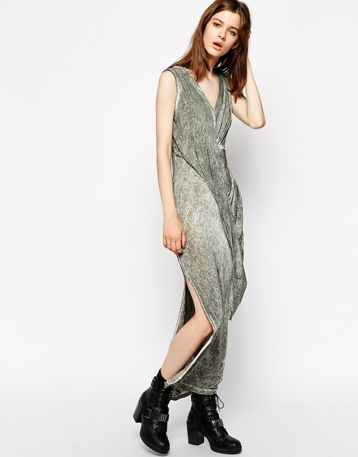 Religion Rain Maxi Dress