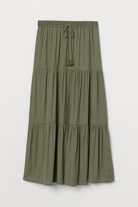 H&M Long Skirt - Green