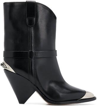 Isabel Marant Lamsy cone-heel boots