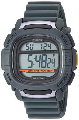 Timex Men's TW5M26700 Command 47mm Silicone Strap Watch