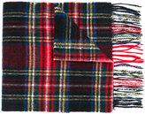 Barbour tartan scarf