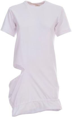 Comme des Garcons Cut Out Longline T-Shirt