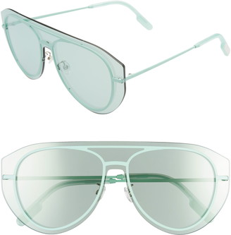 Kenzo 147mm Aviator Shield Sunglasses
