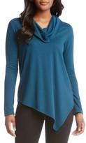 Karen Kane Women's Cowl Neck Asymmetrical Sweater