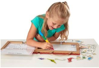 Melissa & Doug Reusable Drawing And Magnet Kit Dinosaurs
