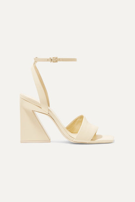 Mercedes Castillo Serafina Leather Sandals - Cream