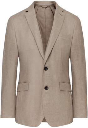 Hackett Wool And Cashmere Twill Blazer