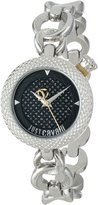 Just Cavalli Women's R7253137625 Lily Round Stainless Steel Dial Watch