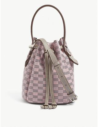 Moreau Paris Nacelle medium leather bucket bag