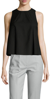 KENDALL + KYLIE Darted Front Pleated Shell