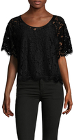 Plenty by Tracy Reese Lace Scoopneck Tee