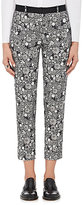 Each X Other Women's Floral Stretch-Cotton Crop Trousers