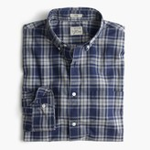 J.Crew Slim Secret Wash shirt in heather plaid