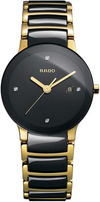 Rado Centrix Diamond Bracelet Watch, 28mm
