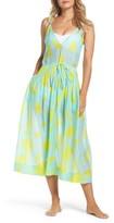 Diane von Furstenberg Women's Cover-Up Midi Dress