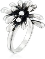 Zina Sterling Fireworks Oxidized Ring, Size 7