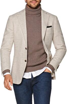 Suitsupply Havana Slim Fit Plaid Wool Sport Coat