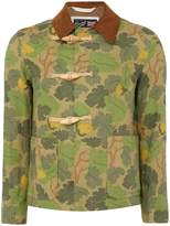 Gloverall Men's Camoflauge Duffle Coat