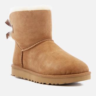 UGG Women's Mini Bailey Bow II Sheepskin Boots