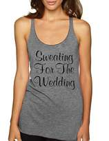 Allntrends Women's Tank Top Sweating For The Wedding Cool Fitness Top (M, )