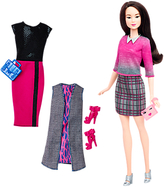 Barbie Fashionistas Chic With a Wink Doll and Fashions