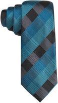 Alfani Men's Sidney Gingham Slim Tie, Only at Macy's