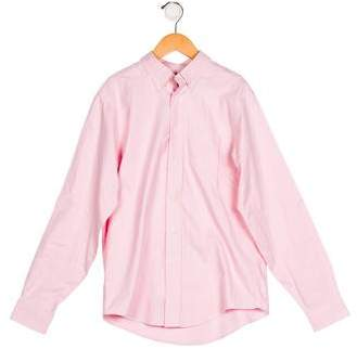 Brooks Brothers Boys' Collared Button-Up Shirt