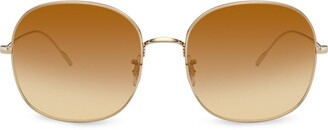 Oliver Peoples Gradient Round Sunglasses