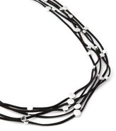 Penningtons Faux-Leather Necklace