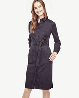 Ann Taylor Petite Denim Shirtdress