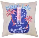 Margaritaville Rio Outdoor Pillow Island Life Guitar - Tan