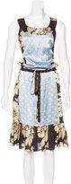 Sophie Theallet Silk Printed Dress