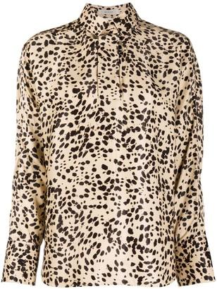 Áeron Animal Print Long-Sleeve Shirt