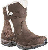 Oboz Women's Madison Insulated Zip-Up Hiking Boot