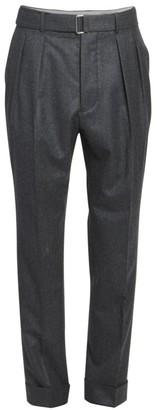 Officine Generale Pierre Pleated Cuffed Dress Pants
