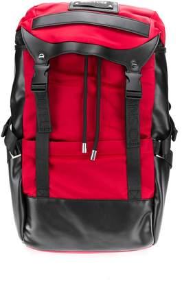 Versace double buckle backpack