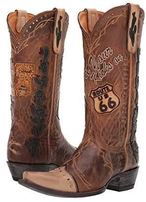 Old Gringo Route 66 (Saddle) Cowboy Boots