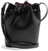 Mansur Gavriel Red-lined Mini leather bucket bag