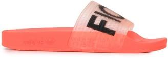 adidas Fiorucci slide sandals