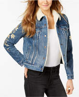 Levi's Cotton Fleece-Lined Denim Trucker Jacket