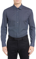 Sand Blumicro Trim Fit Sport Shirt