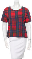 Acne Studios Oversize Plaid T-Shirt
